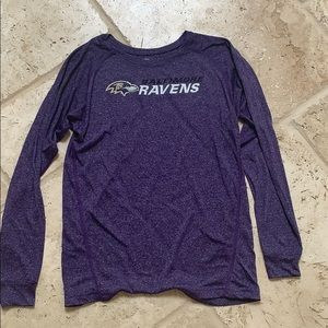 Long sleeve Baltimore ravens top!